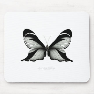 Large Field Sage Butterfly Mouse Pad