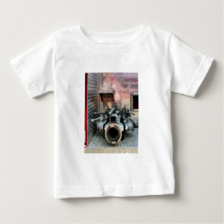 Large Fire Hose Nozzle Baby T-Shirt