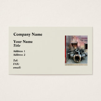 Large Fire Hose Nozzle Business Card