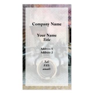 Large Fire Hose Nozzle Business Cards