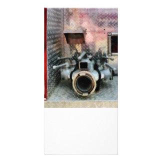 Large Fire Hose Nozzle Card