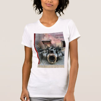 Large Fire Hose Nozzle Tee Shirt