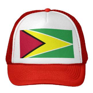 large_flag_of_guyana trucker hat