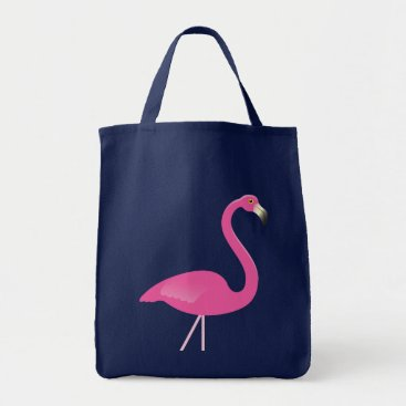 Beach Themed Large Flamingo Budget Tote