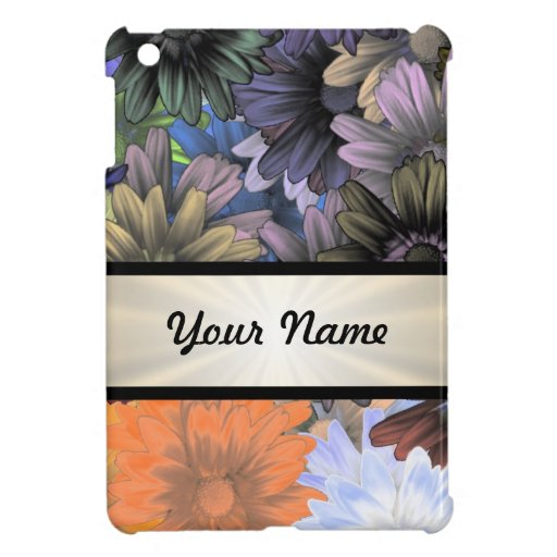 Large Flower Collage Cover For The iPad Mini