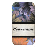 Large Flower Collage iPhone 4/4S Covers