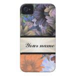 Large Flower Collage iPhone 4 Cases