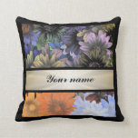 Large Flower Collage Pillows