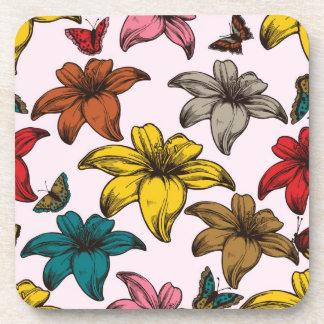 Large Flowers Coaster