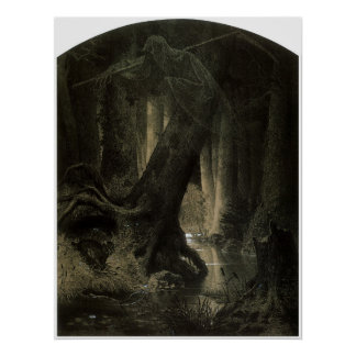 Large Forest Poster
