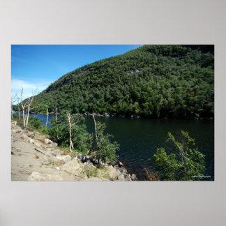 Large Freshwater Lake- Adirondacks. print 214