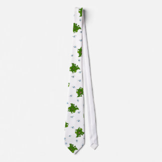 Large Frogs on Tie