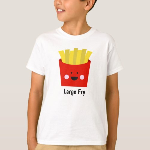 Large Fry French Fry Sibling Shirts