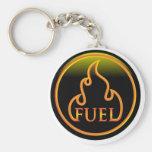 large fuel logo key chains
