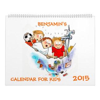Large Funny Calendar For Kids 2015