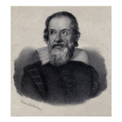Large Galileo Galilei Art Print