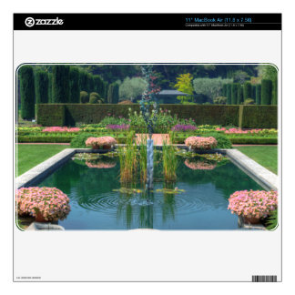 Large Garden Fountain Decal For MacBook