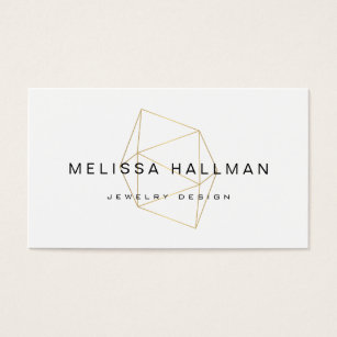 Jewelry business cards templates zazzle large gemstone for jewelry designer boutique business card colourmoves Image collections