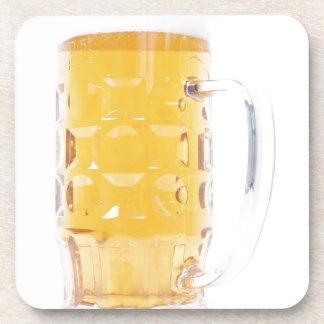Large German Bierkrug Beer Mug Tankard Glass Pint Coasters