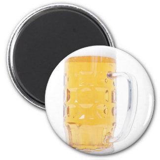 Large German Bierkrug Beer Mug Tankard Glass Pint Fridge Magnet