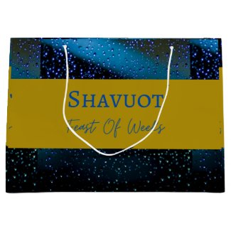 Large Gift Bag Craft Shavuot Feast Of Weeks