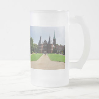 Large glass cup Luebeck getting gate
