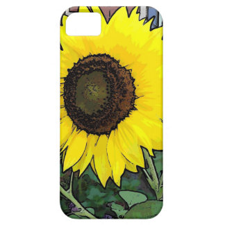 Large gold sunflower iPhone 5 case