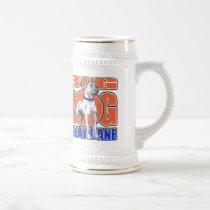 Large Great Dane Beer Stein