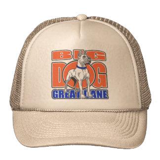Large Great Dane Trucker Hat