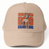 Large Great Dane Trucker Hat