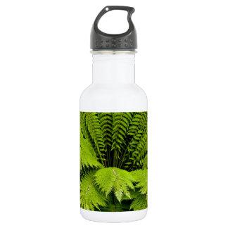 Large Green Fern 18oz Water Bottle