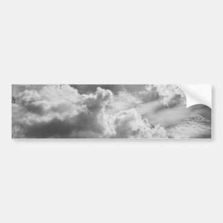 Large Grey Cloud Sky Bumper Sticker