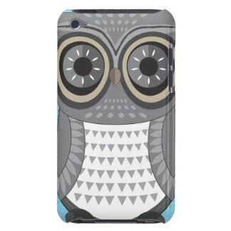 Large Grey Owl iPod Touch Case