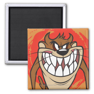 Large Grin TAZ™ 2 Inch Square Magnet