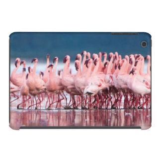 Large Group Of Lesser Flamingos iPad Mini Retina Covers