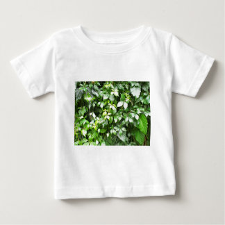Large growths of green ivy creeping baby T-Shirt