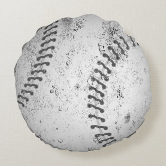 Large Grunge Baseball Pillow