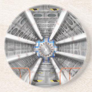 Large Hadron Collider  particle accelerator Drink Coaster