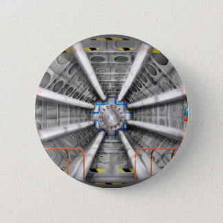 Large Hadron Collider  particle accelerator Pinback Button