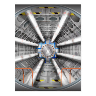 Large Hadron Collider  particle accelerator Postcard