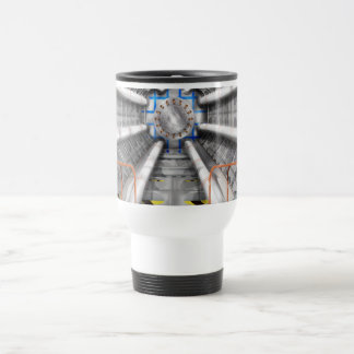 Large Hadron Collider  particle accelerator Travel Mug