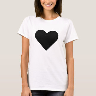 Large heart alt-3 shirt. T-Shirt