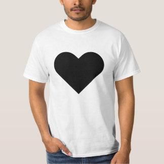 Large heart alt-3 shirt. T-Shirt