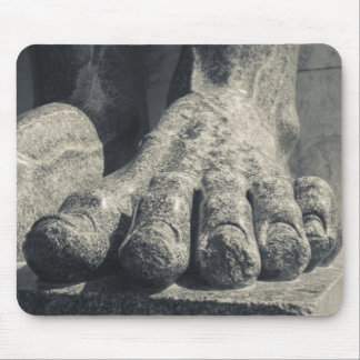 Large Hermitage building, sculpture foot 2 Mouse Pad