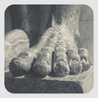 Large Hermitage building, sculpture foot 2 Stickers