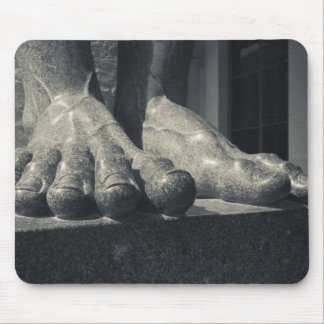 Large Hermitage building, sculpture foot Mouse Pad