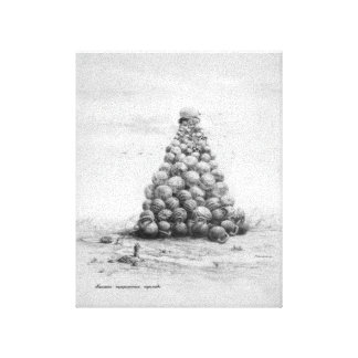 LARGE HIERARCHICAL PYRAMID CANVAS PRINTS