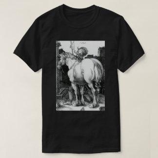 Large Horse Engraving by Albrecht Durer T-Shirt