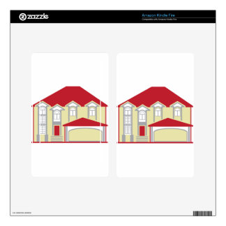 Large House Decal For Kindle Fire