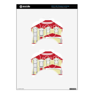 Large House Xbox 360 Controller Skin